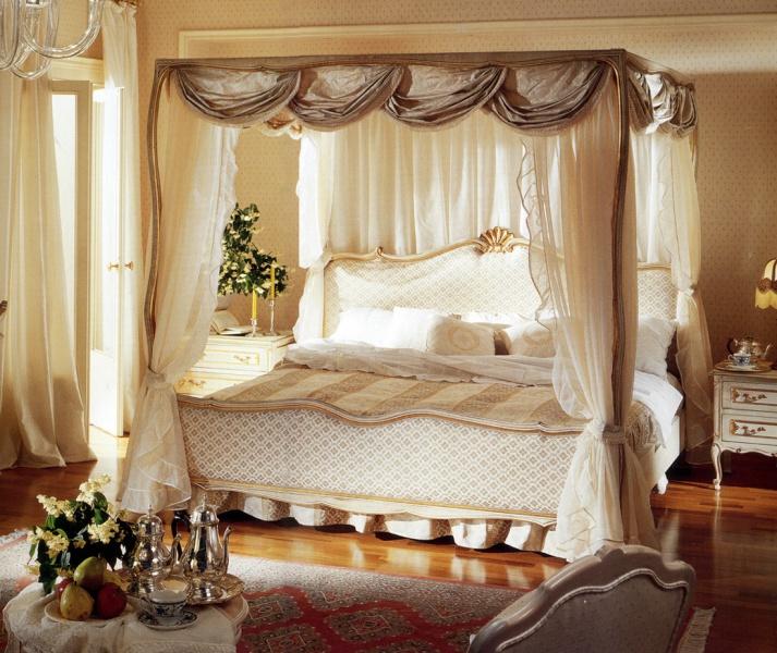 Кровать с балдахином - комфорт и романтика вашей спальни