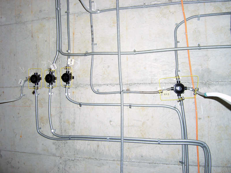 Монтаж внутренней электропроводки своими руками