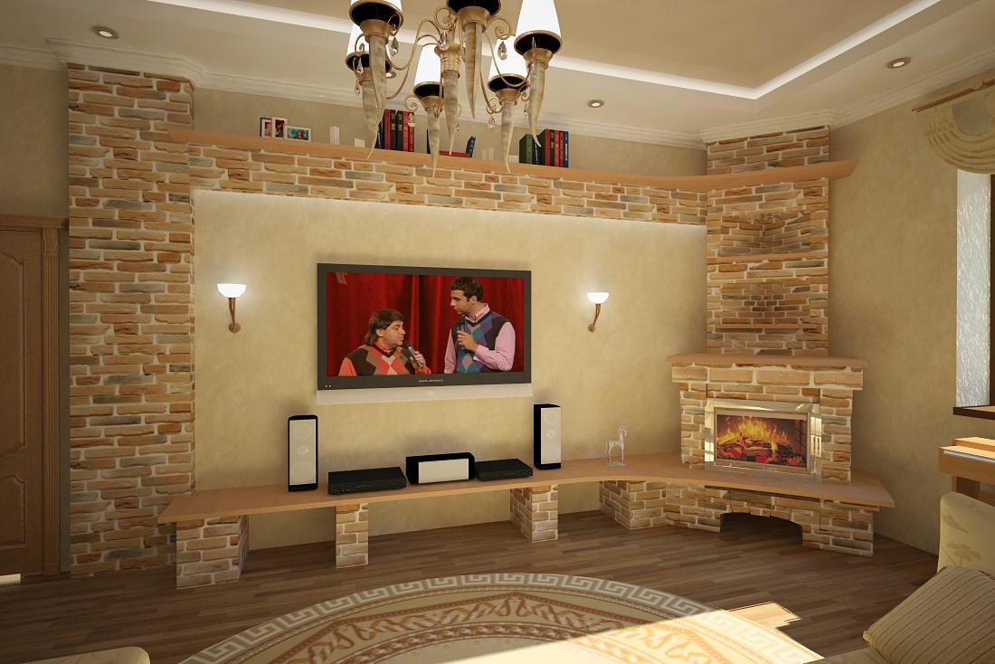 Угловые камины в интерьере гостиной фото своими руками