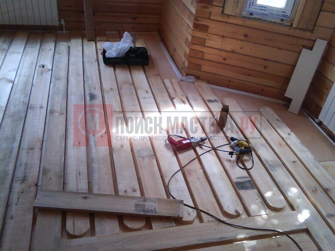 Теплый пол в деревянном доме без стяжки своими руками видео