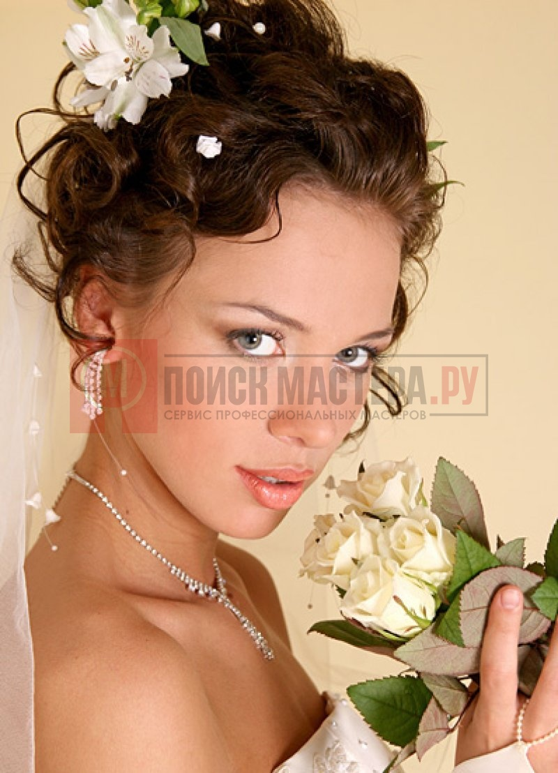 скачать свадебные прически 2009года
