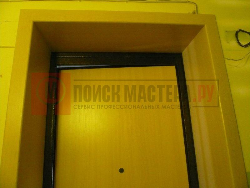 Как сделать дверку в пластиковых панелях