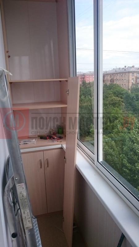 Устройство шкафов на балконе, установка москитных сеток на а.