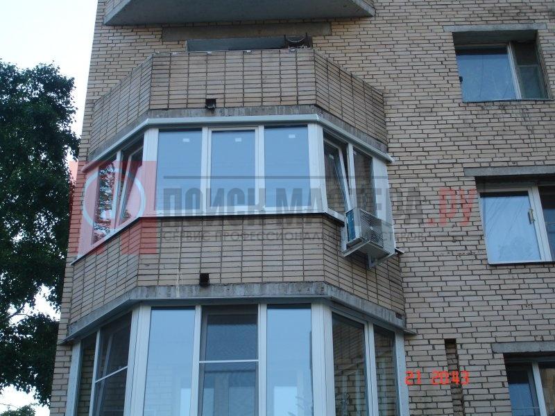 Балкон эркер фото..