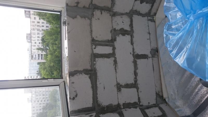 Ул Челюскинская д 11. переделка фасадной части остекления ба.