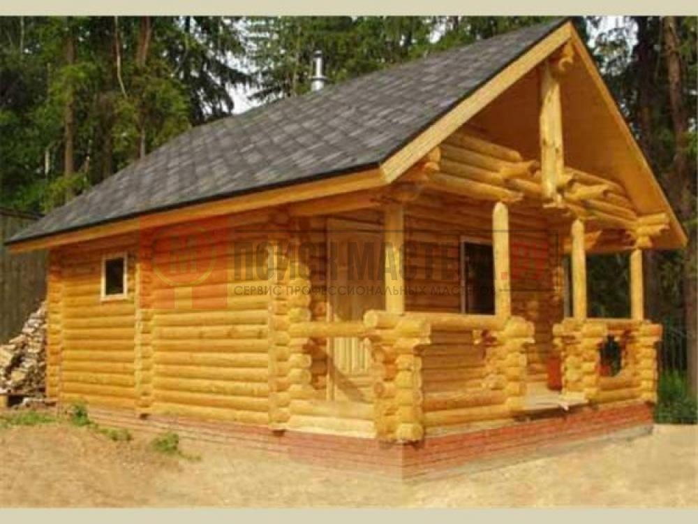 Срубы для дома, дачи, бани, пристройки, террасы. Строительство домов