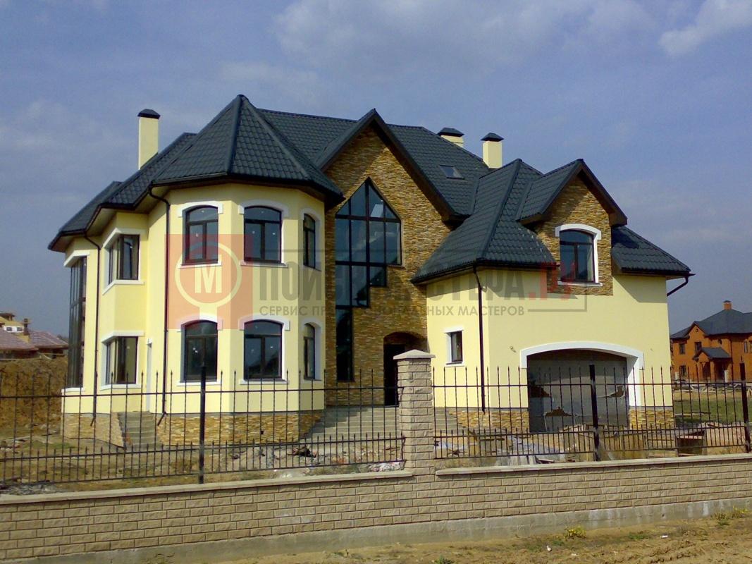 Постройка дома из пеноблоков, Московская область,г.Голицыно