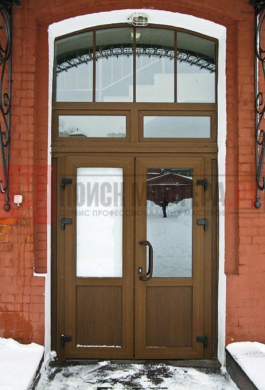 пвх входные группы двери