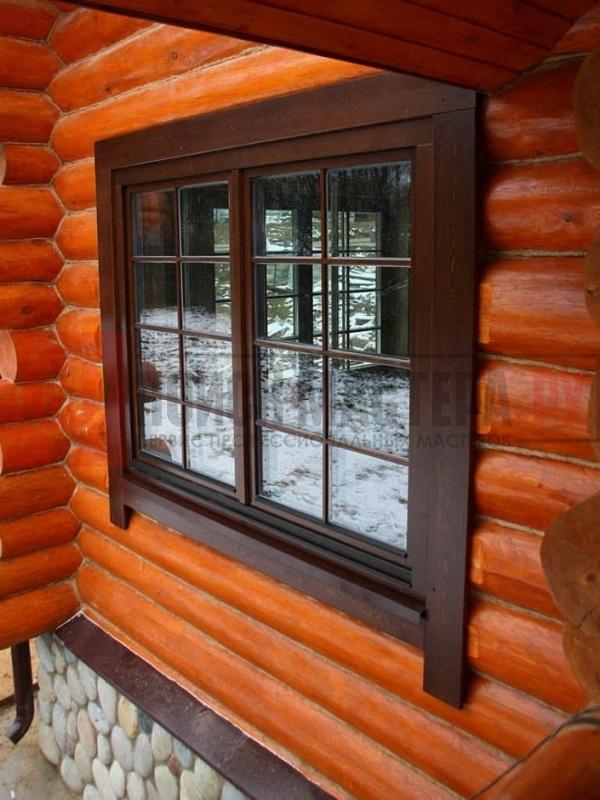 Установка окон в деревянный дом цена работы