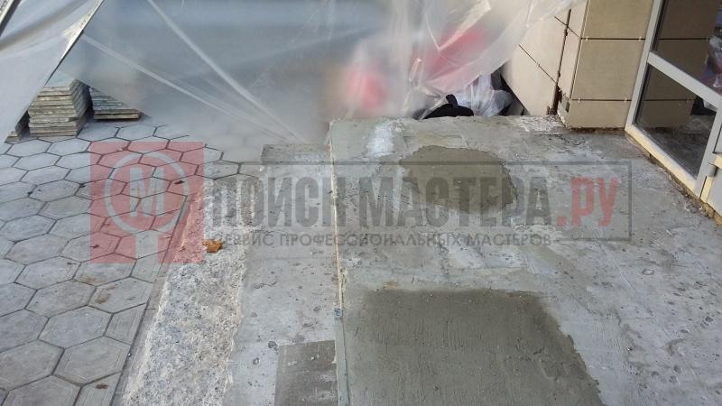 Заделка швов фанеры на полу
