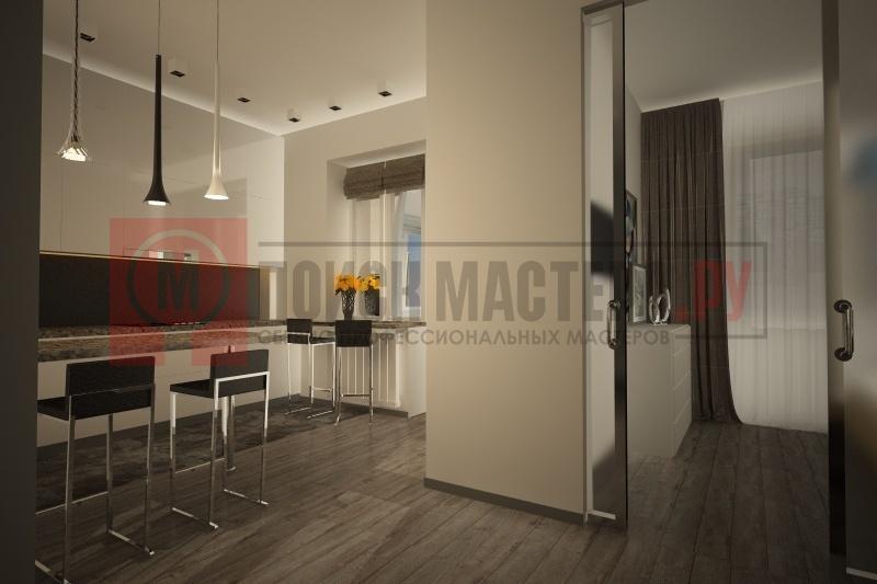 Квартира в стиле хай-тек, Москва