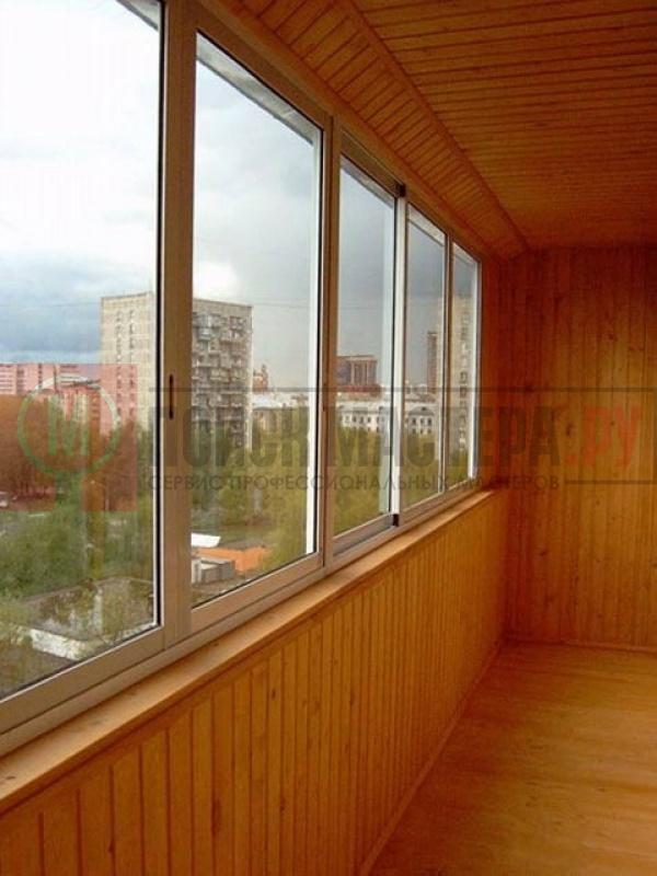 """Остекление и отделка балконов фото - альбом мастера ооо """"тот."""