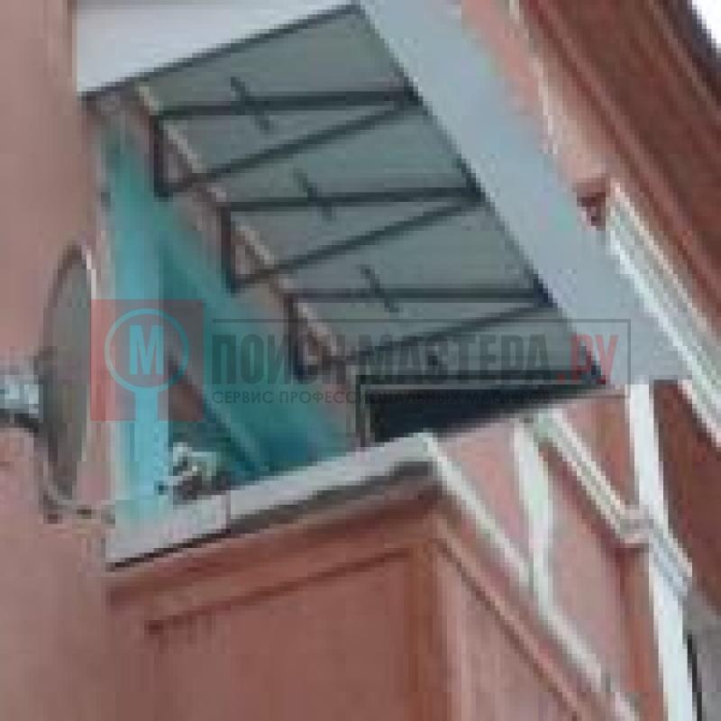 Остекление балконов и лоджий установка крыши.