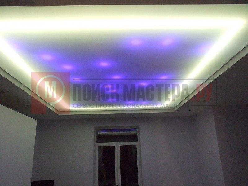 Светодиодные ленты для натяжных потолков своими руками