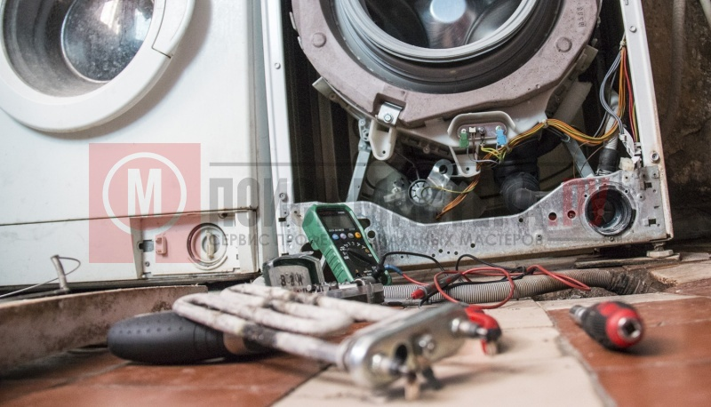 Ремонт стиральных машин замена тэна своими руками 98